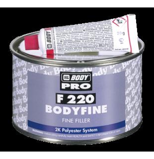 Smulkus poliesterinis užbaigiamasis glaistas BODY F220 Fine 1kg