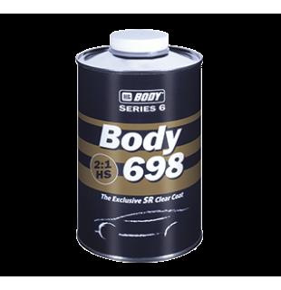 Akrilinis lakas BODY 698 HS Clear Coat 2+1 su kietikliu (komplektas)
