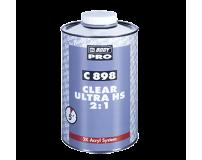 Akrilinis lakas BODY 898 UHS Clear Coat 2+1 su kietikliu (komplektas)