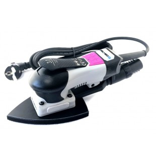 Elektrinė šlifavimo mašinėlė Delmeq Delta 98x145/3mm sanding stroke central vacuum