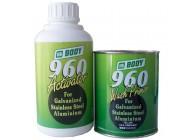 Rūgštinis gruntas BODY 960 Wash Primer 1l + 960 Activator 1l