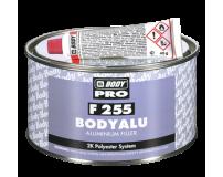 Užpildantis glaistas su aliuminio pigmentais BODY F255 Alu 1kg