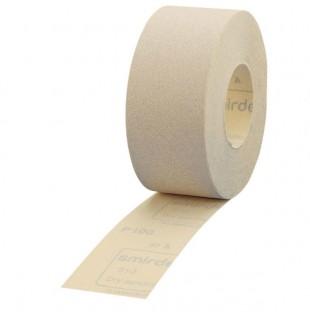 Šlifavimo popierius Velcro pagrindu rulone SMIRDEX 71x25m