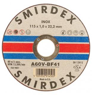 Metalo pjovimo diskelis SMIRDEX, diametras - 125mm