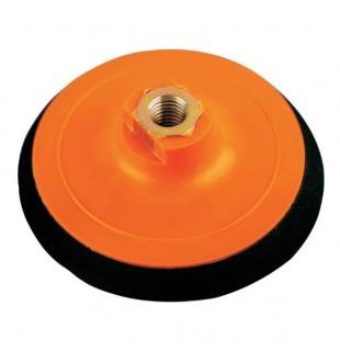 """Šlifavimo diskelių laikiklis SMIRDEX  """"Velcro"""" pagrindu, 8 skylių, d125"""