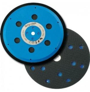 """Šlifavimo diskelių laikiklis SMIRDEX MULTIPAD PROFESIONAL """"Velcro"""" pagrindu, 15 skylių, d150"""